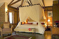 The Arusha Coffee Lodge Bed