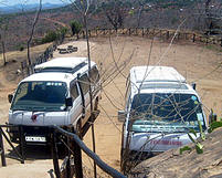 F Kings Convoy at lion hill lodge on a group safaris