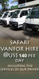 Safari van (mini bus) for Hire